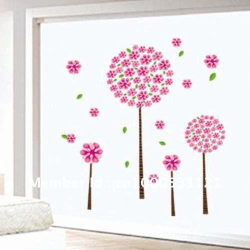 Bigest wallpaper removable wall stickers glass paper Pandora s tree 90 500x500