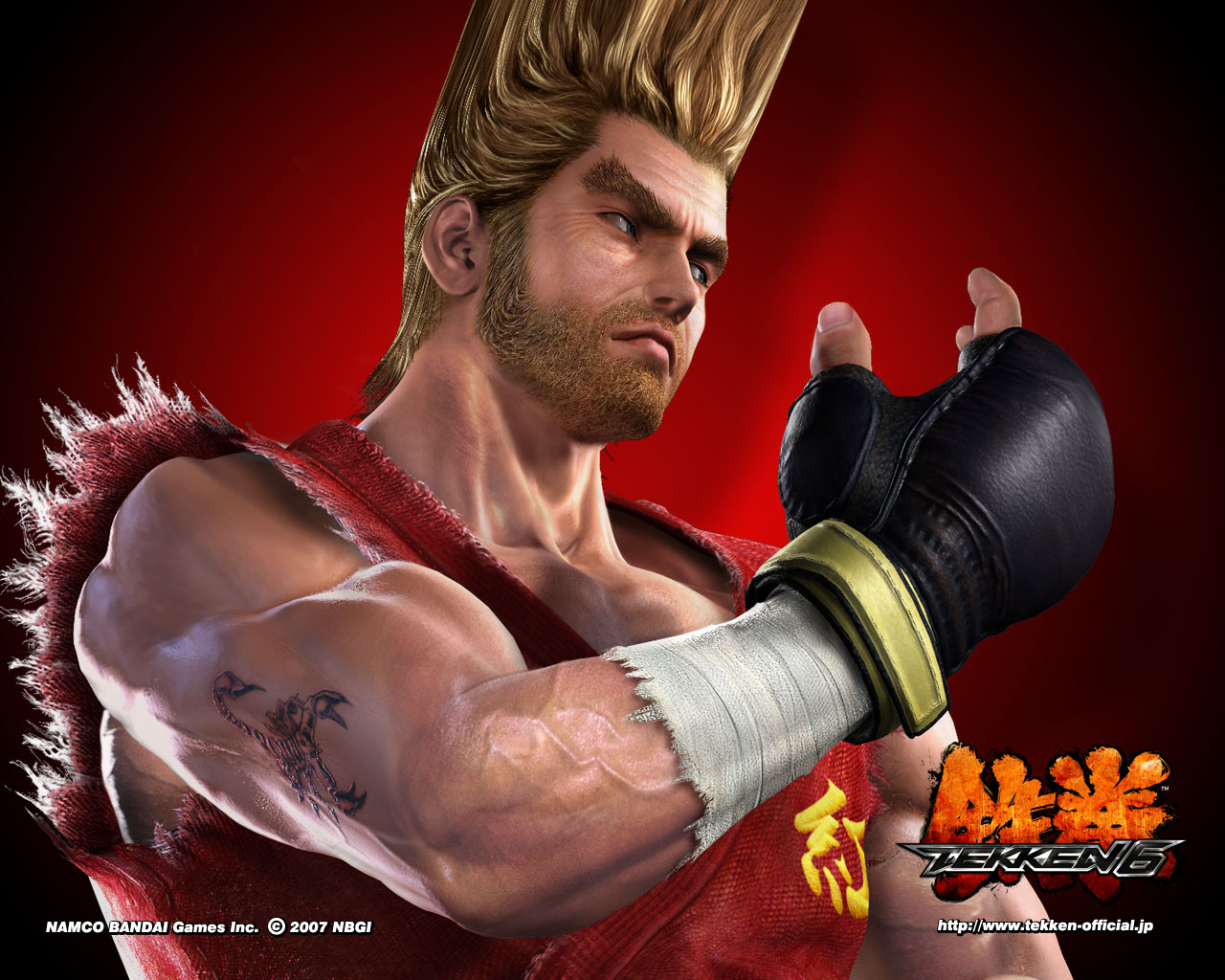 Paul Phoenix Tekken 6 Wallpapers HD Wallpapers 1280x1024