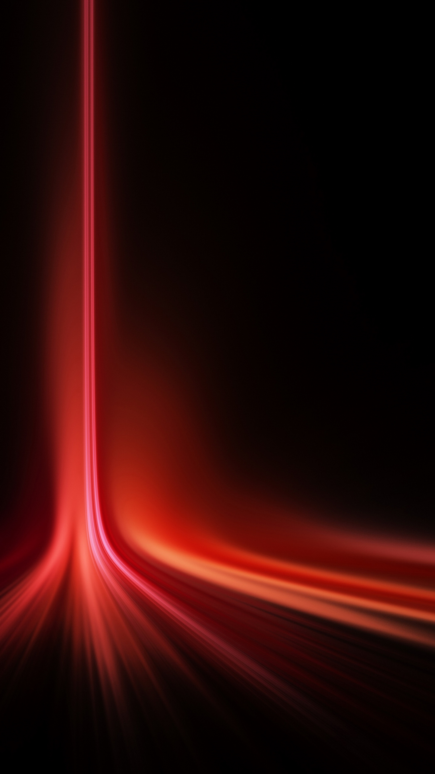 Vertical Red Laser Light Spread Galaxy Note 4 Wallpaper Quad HD 1440x2560