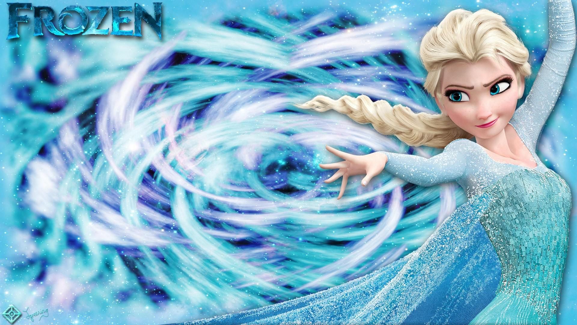 HD Best Elsa Frozen Disney Wallpaper Download   139941 1920x1080
