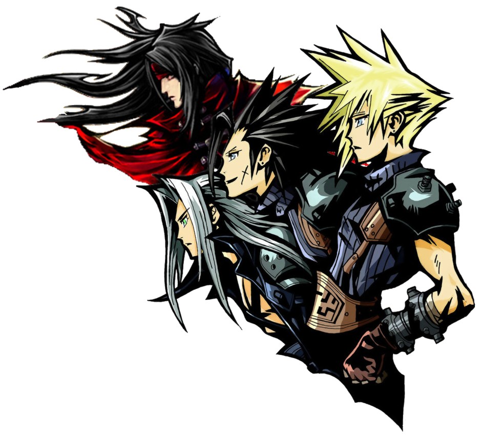 ff7 logo remake with vincent by GIOVANNIMICARELLI 939x851