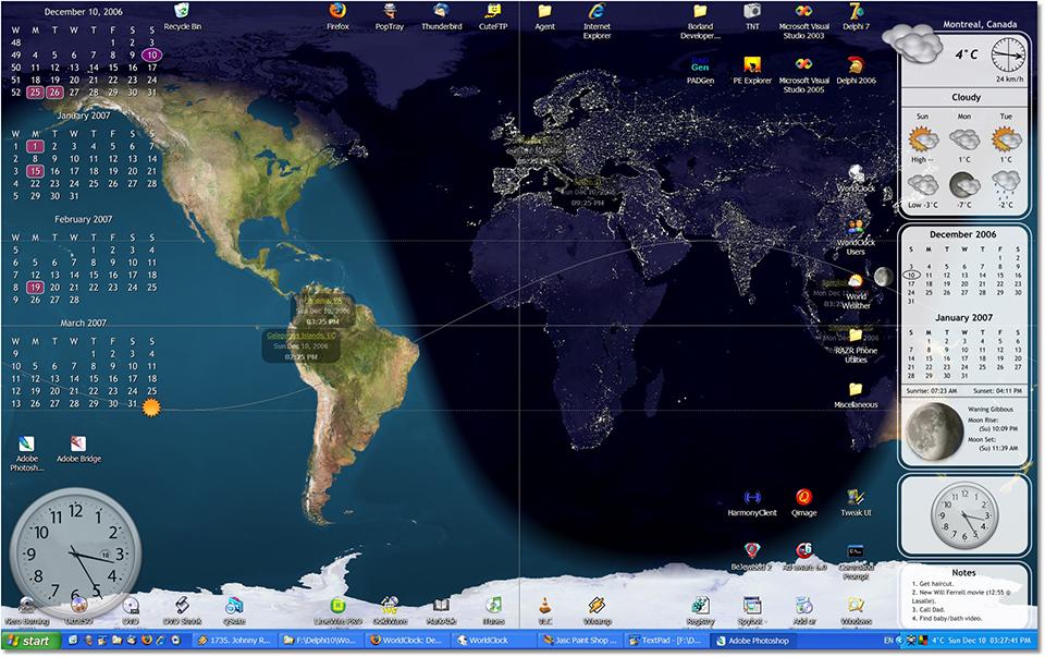 Calendar Clock Wallpaper For Desktop : World clock desktop wallpaper wallpapersafari