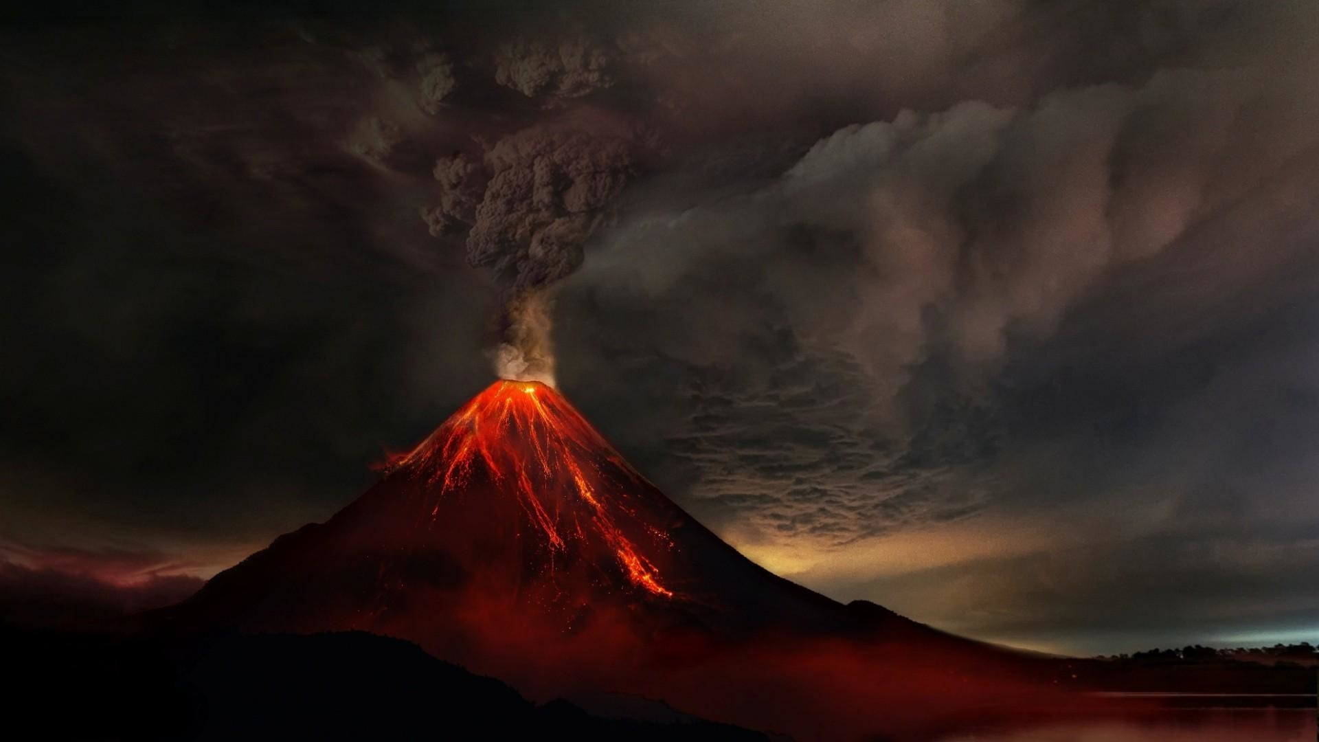 67 Volcanic Eruption Wallpapers on WallpaperPlay 1920x1080