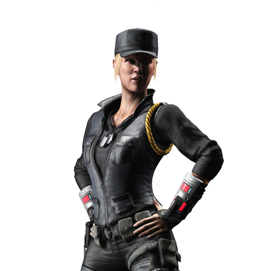 Mortal Kombat X iOS   Sonya Blade [Render 2] by WyRuZzaH on 894x894