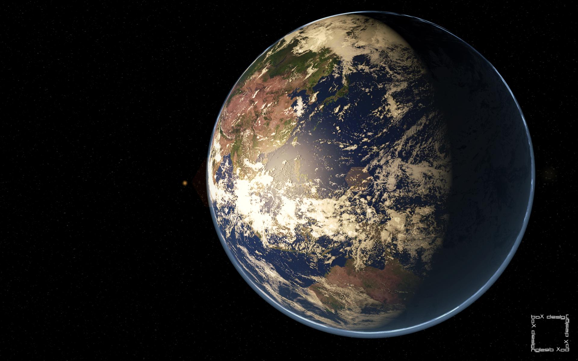 Planet Earth Wallpaper by boX1515 1920x1200