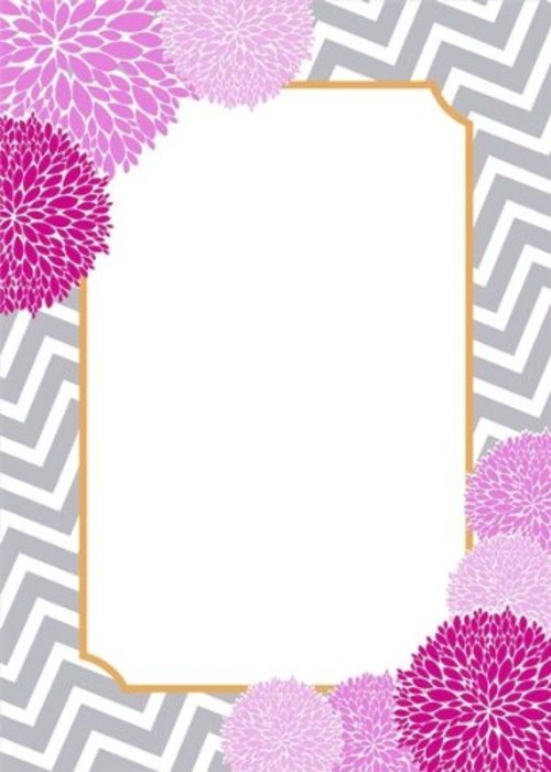 Showing Gallery For Pink And Grey Chevron Border 500x700