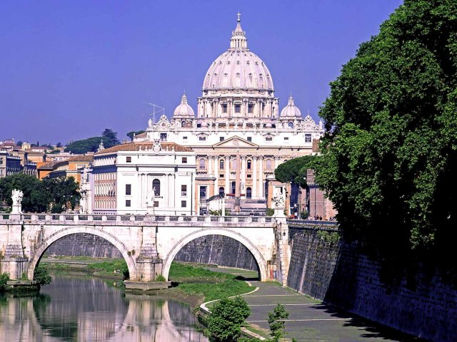 Rome Italy desktop wallpaper 640x480