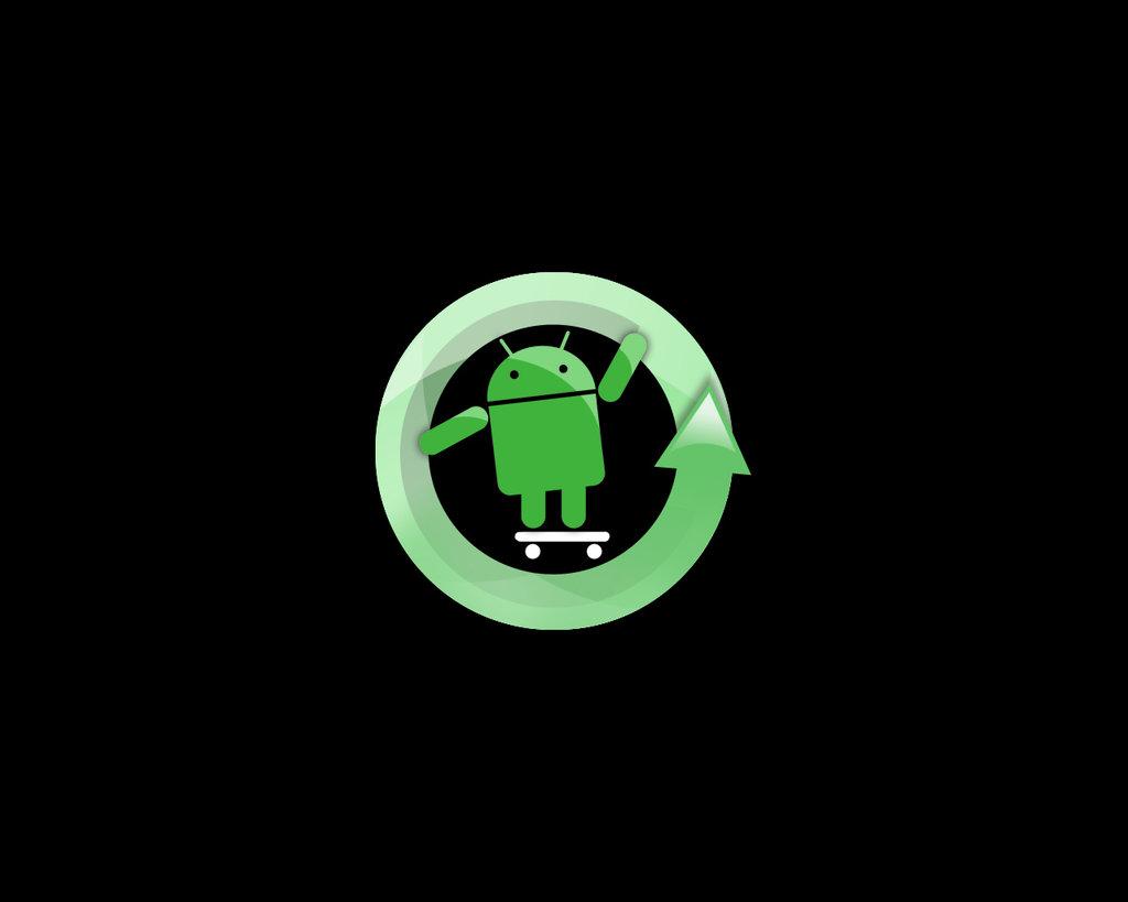 Cyanogenmod GreenWallpaper by Sian391 1024x819