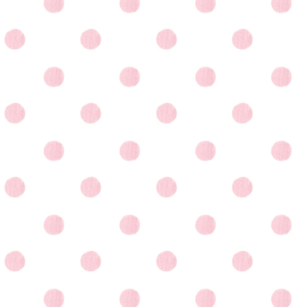 White and Pink Polka Dot Fabric by the Yard Pink Fabric Carousel 1000x1000