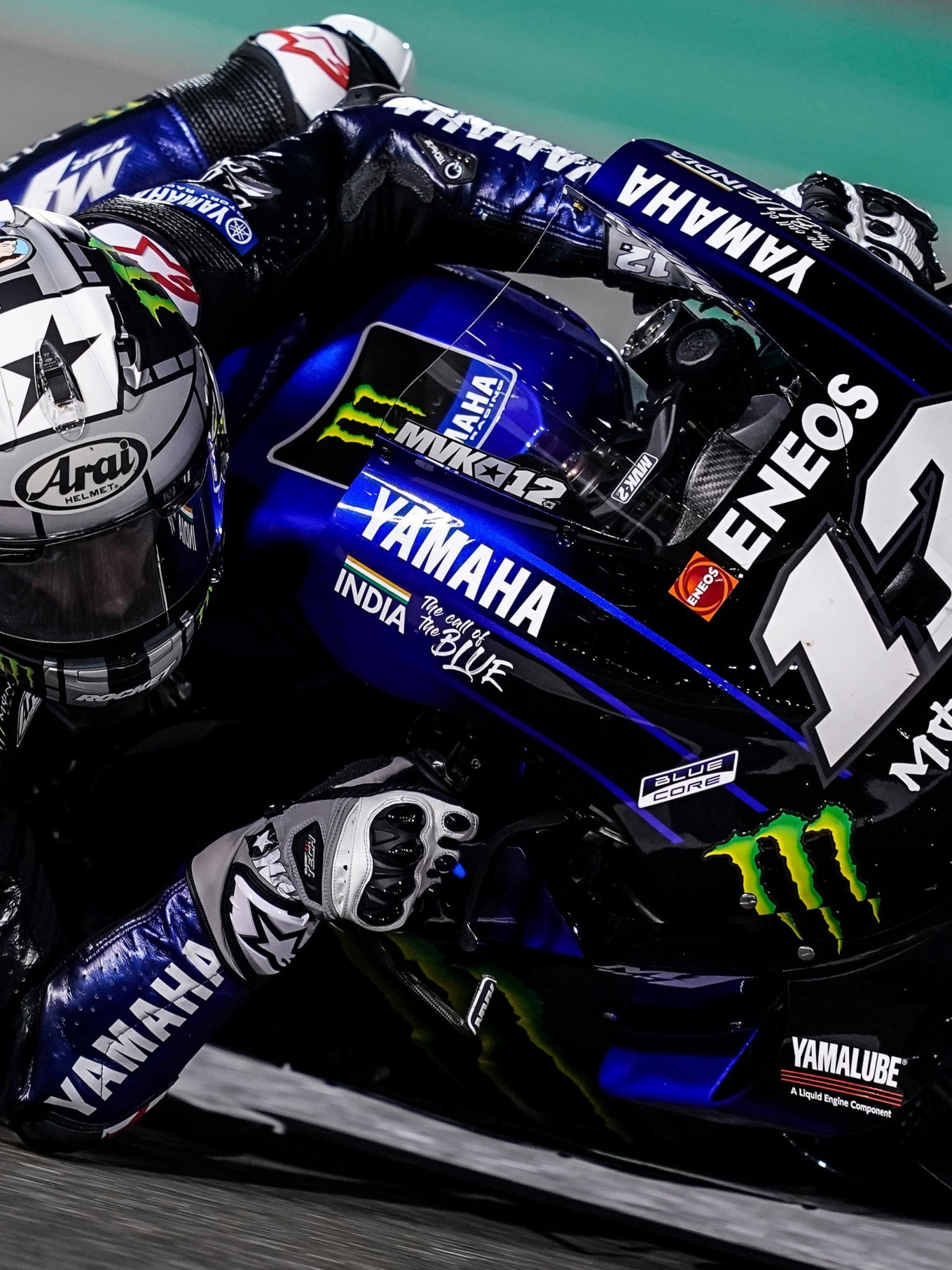 Download 1536x2048 Yamaha Racing Bike Motogp 2019 Wallpapers for 1536x2048