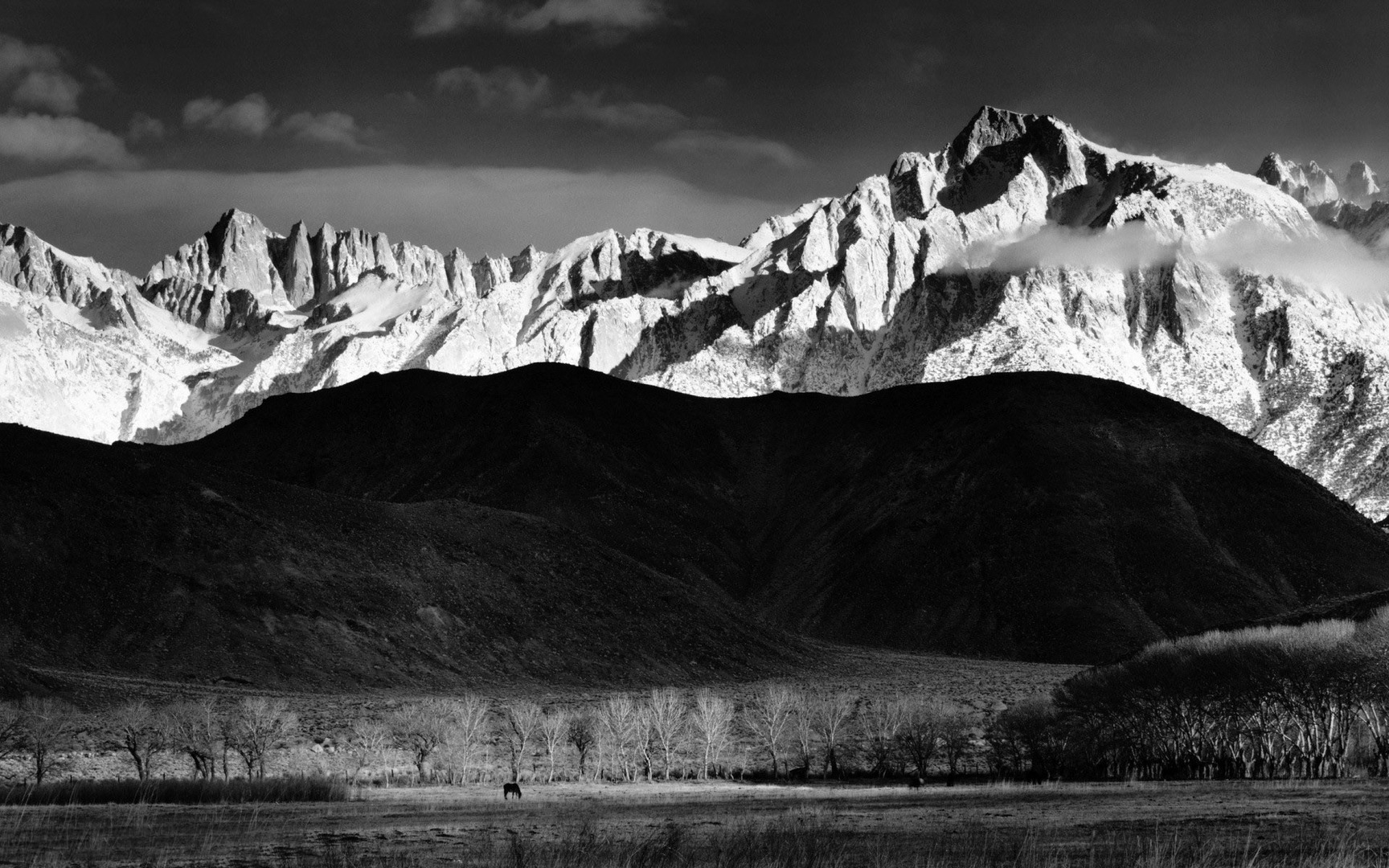 Black hills and white mountains wallpaper Photography Wallpaper 1728x1080