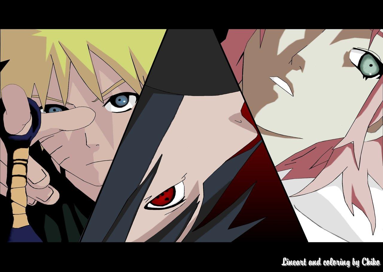 Naruto Sasuke And Sakura Best Wallpaper Online 2015 1280x911