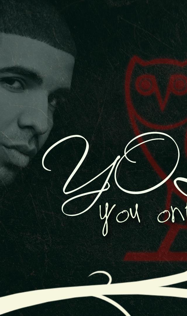 Drake Yolo Rap Wallpapers 640x1080