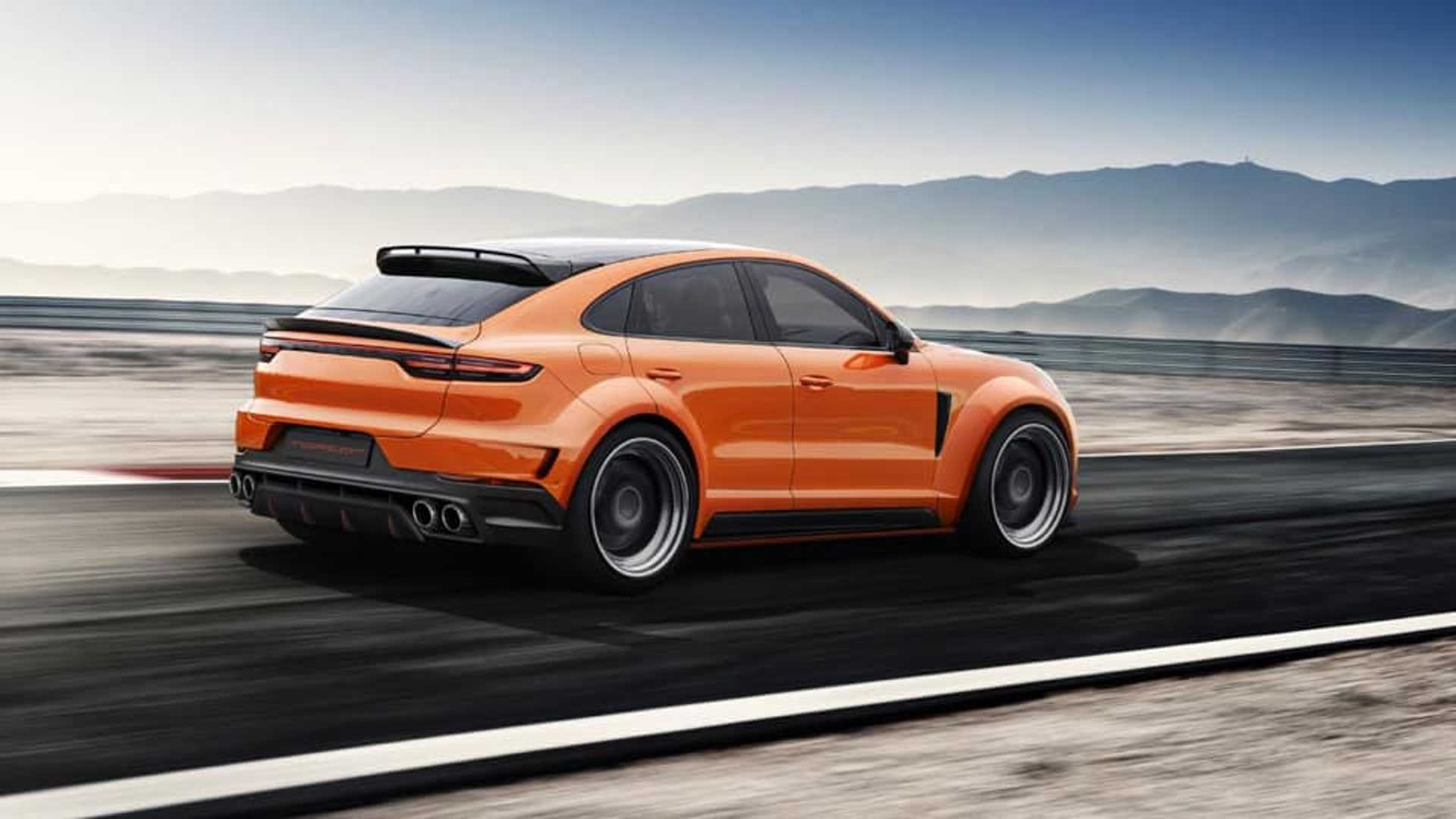 download Tuned Porsche Cayenne Coupe Already Planned 1920x1080