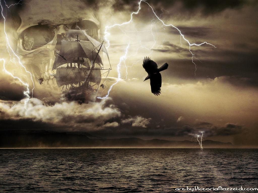 pirate ship wallpaper wallpapersafari