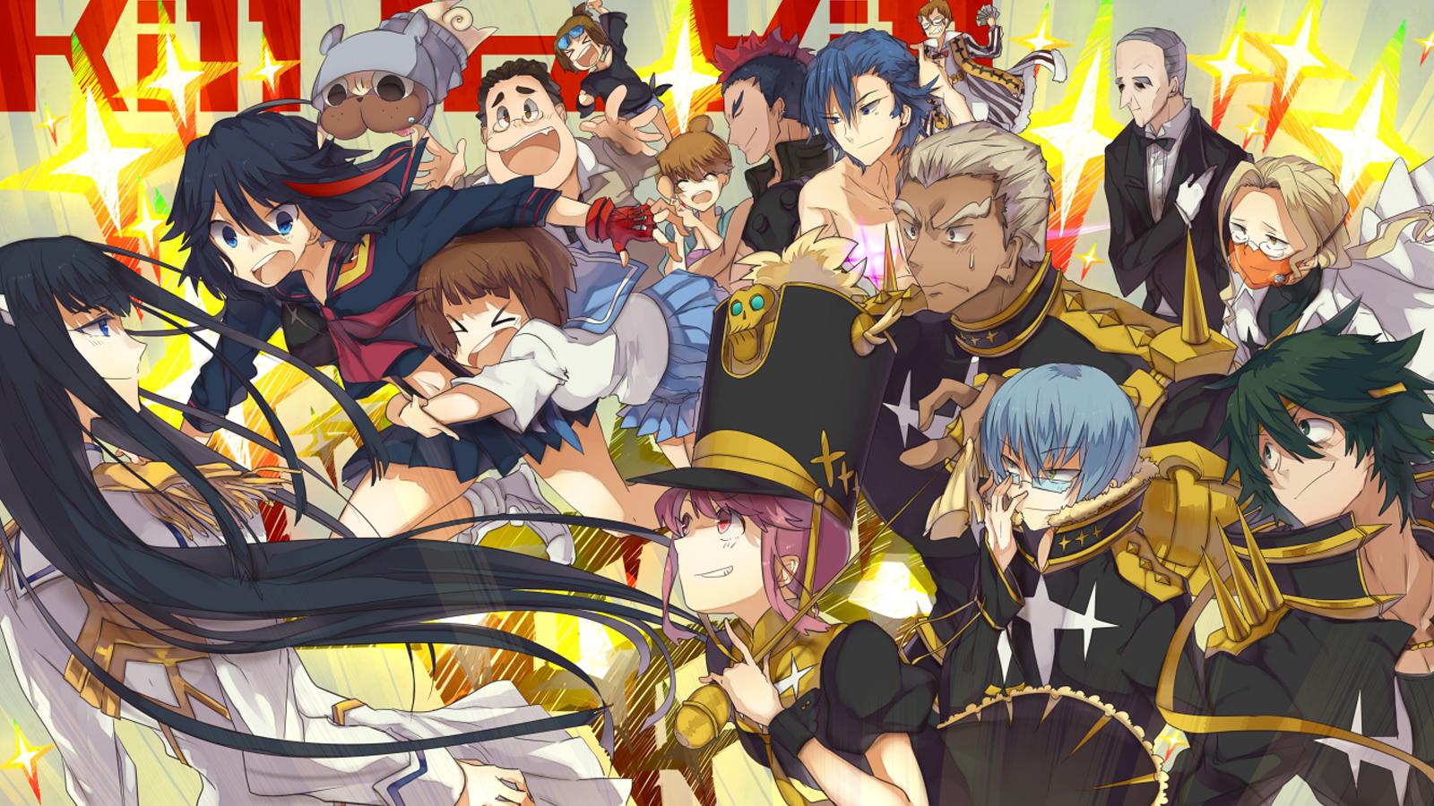 Kill La Kill characters wallpaper Anime Pinterest 1600x900