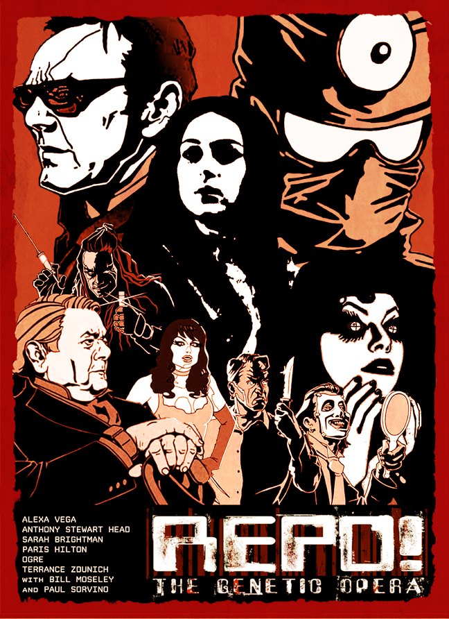 Repo Genetic Opera Fan Poster by ThirtySevenSquared 648x892
