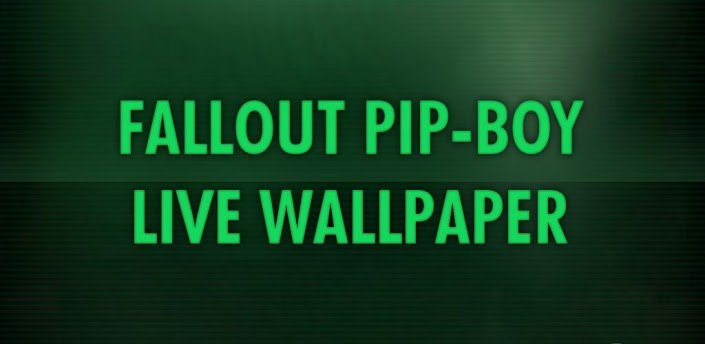 live pip boy wallpaper iphone