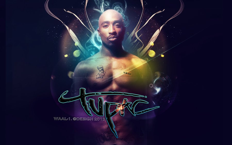 Tupac Shakur Wallpaper by WaaaLi 900x563