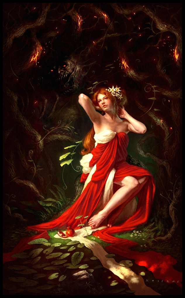Artworks from Deviantart   Hades and Persephone Photo 32107052 633x1020
