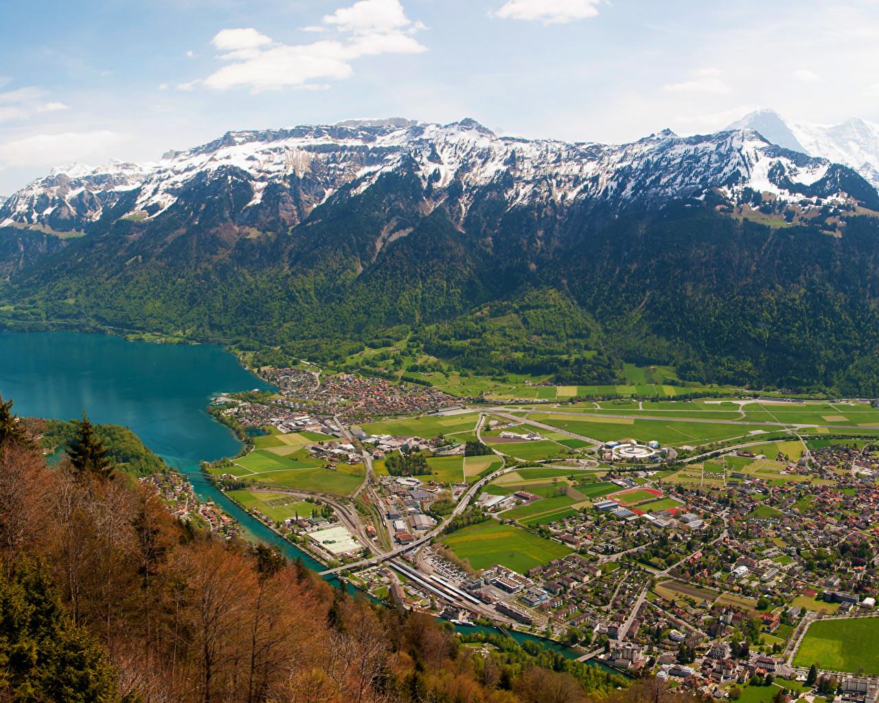 Interlaken   Switzerland   [3440x1440]   [OC] wallpapers 1280x1024