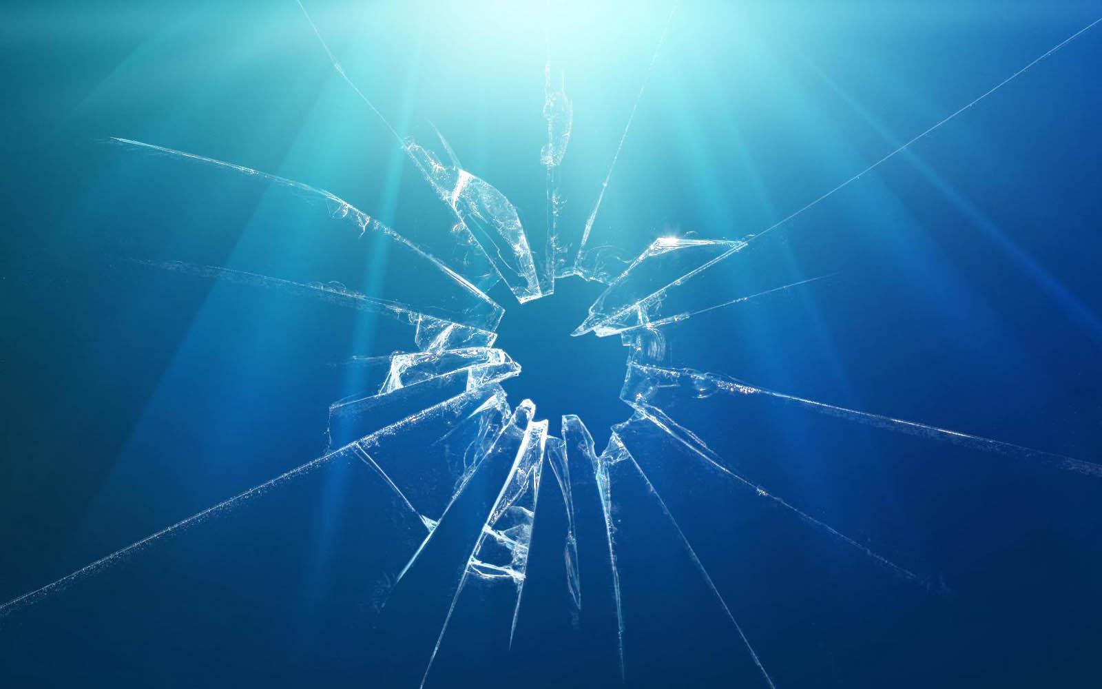 wallpapers Windows Broken Glass Wallpapers 1600x1000