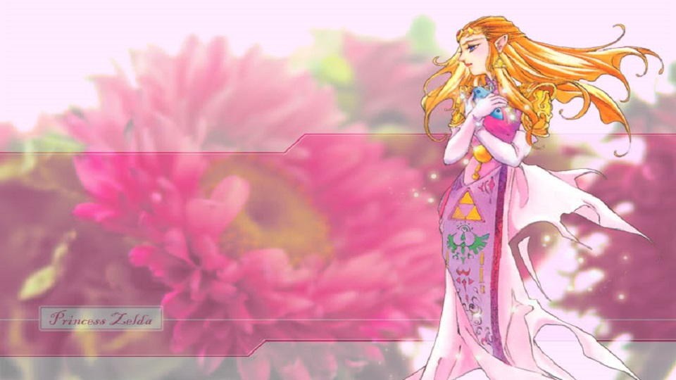 Princess Zelda Pink Wallpaper 960x540