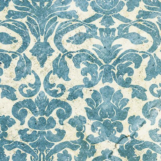 Vintage Floral Wallpapers Judith Marching Future House Blue Vintage 550x550