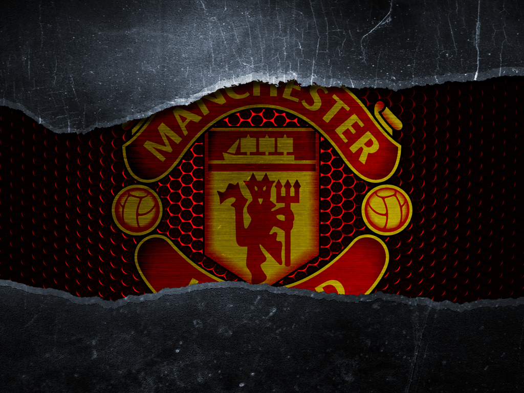 Wallpapers Logo Manchester United 2016 1024x768