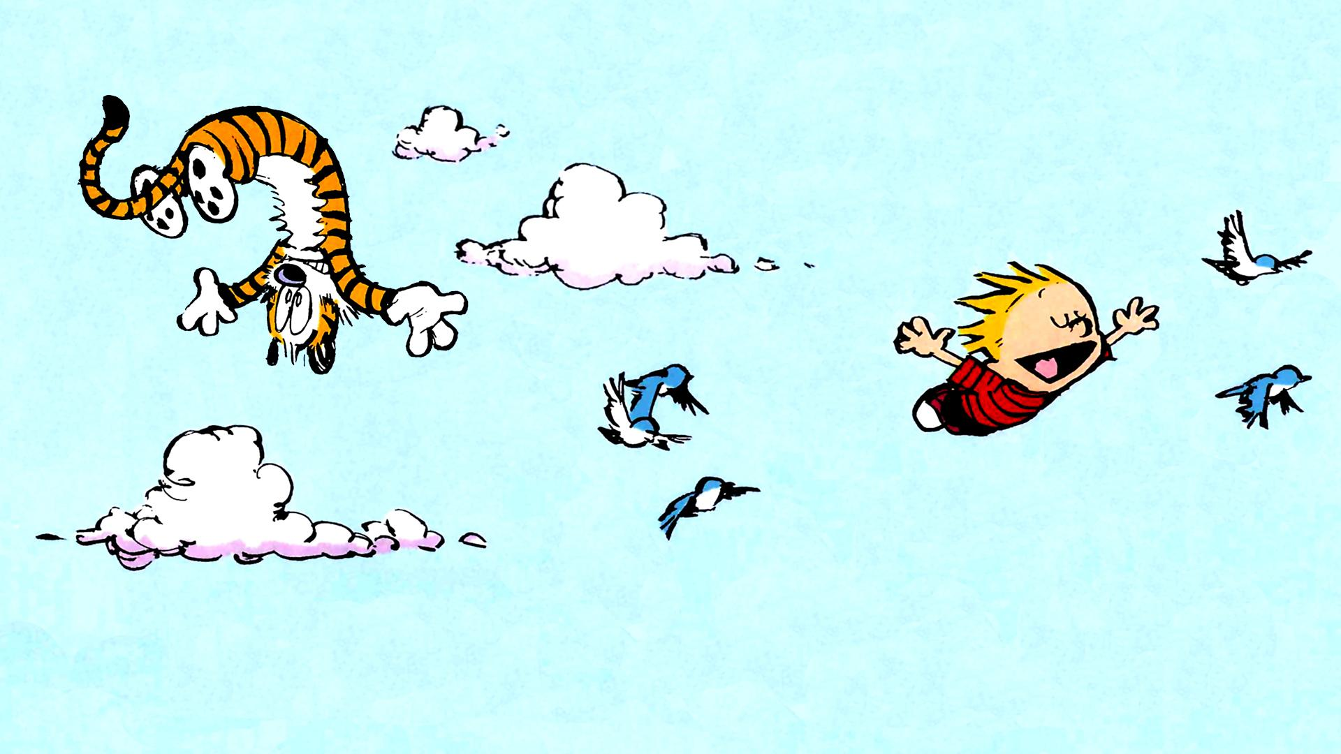 Cute Calvin and Hobbes Wallpapers Wallpapercraft 1920x1080