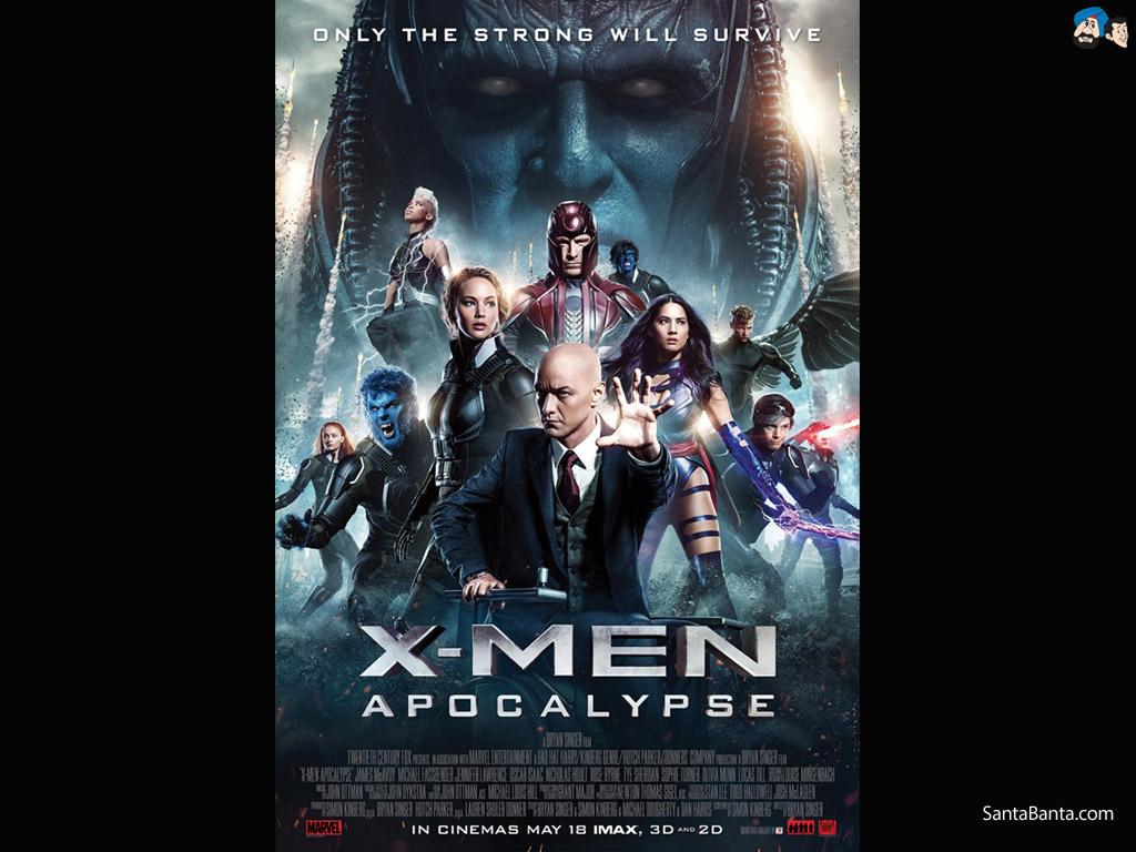 Men Apocalypse Movie Wallpaper 5 1024x768