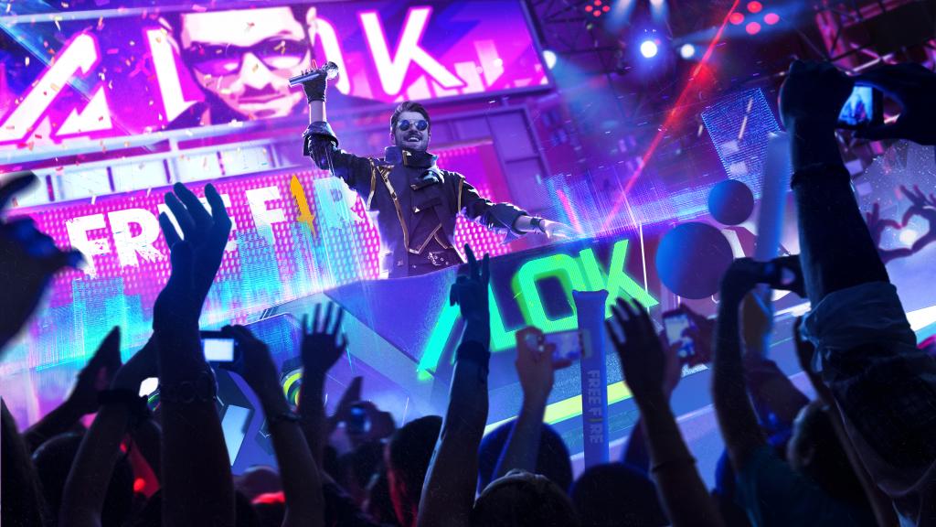 Garena Fire announces global partnership with DJ Alok 1024x576
