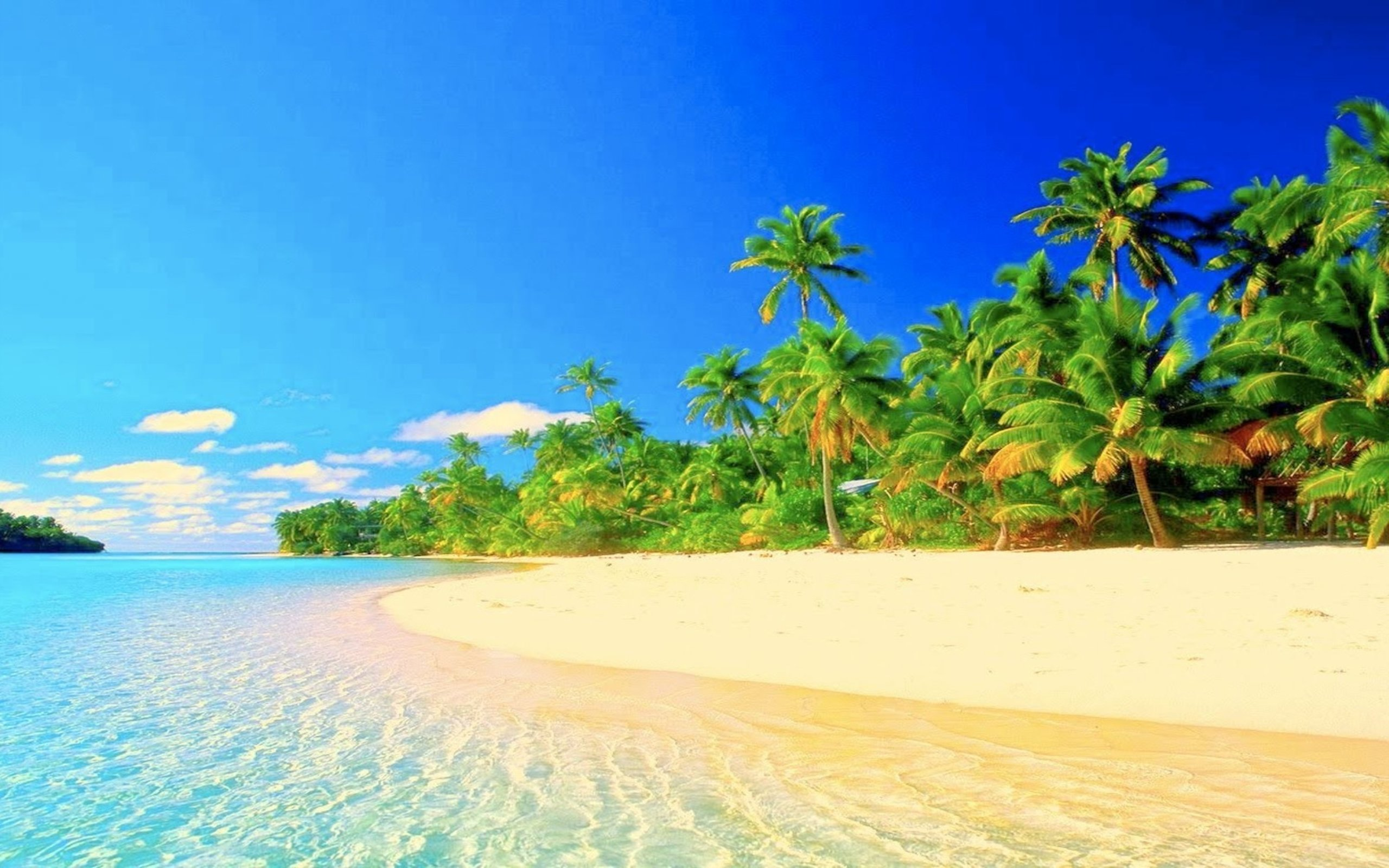 Hd Tropical Island Beach Paradise Wallpapers And Backgrounds: Tropical Paradise Wallpaper High Resolution