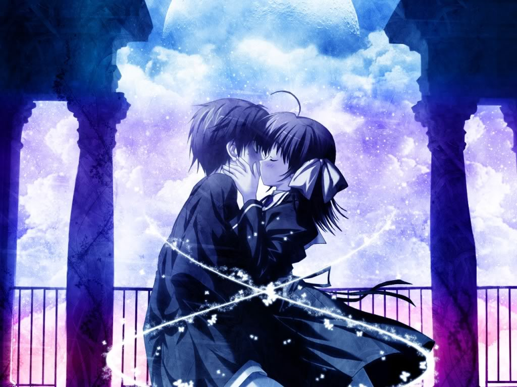 Download Cool Anime Couple Hd Wallpaper Download  X