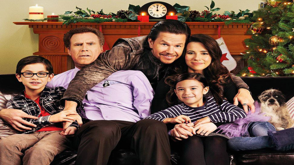 Daddys Home Movie Poster HD Wallpaper Wide Desktop Hollywood Movies 1024x576