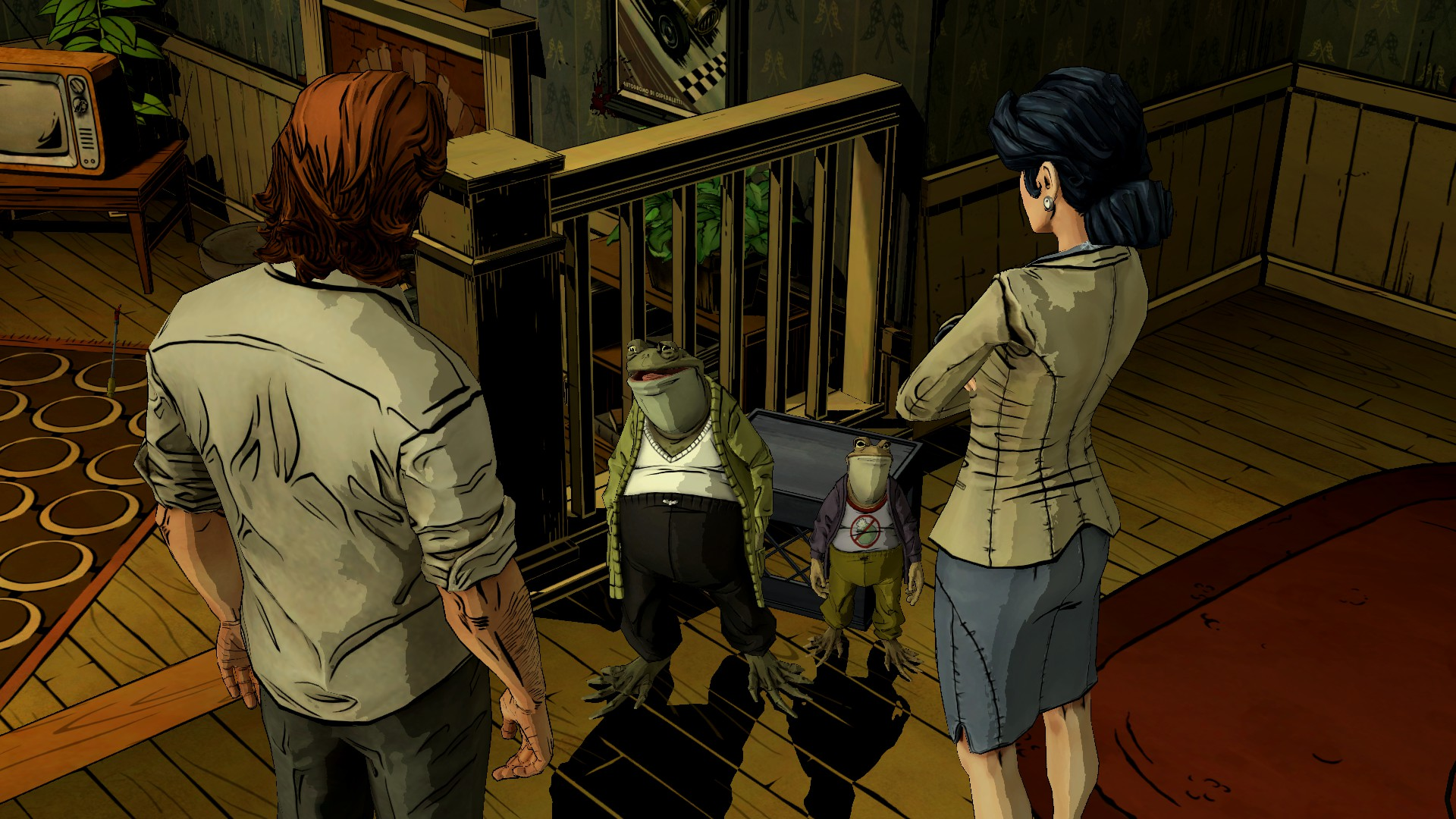 THE WOLF AMONG US game frog u wallpaper background 1920x1080