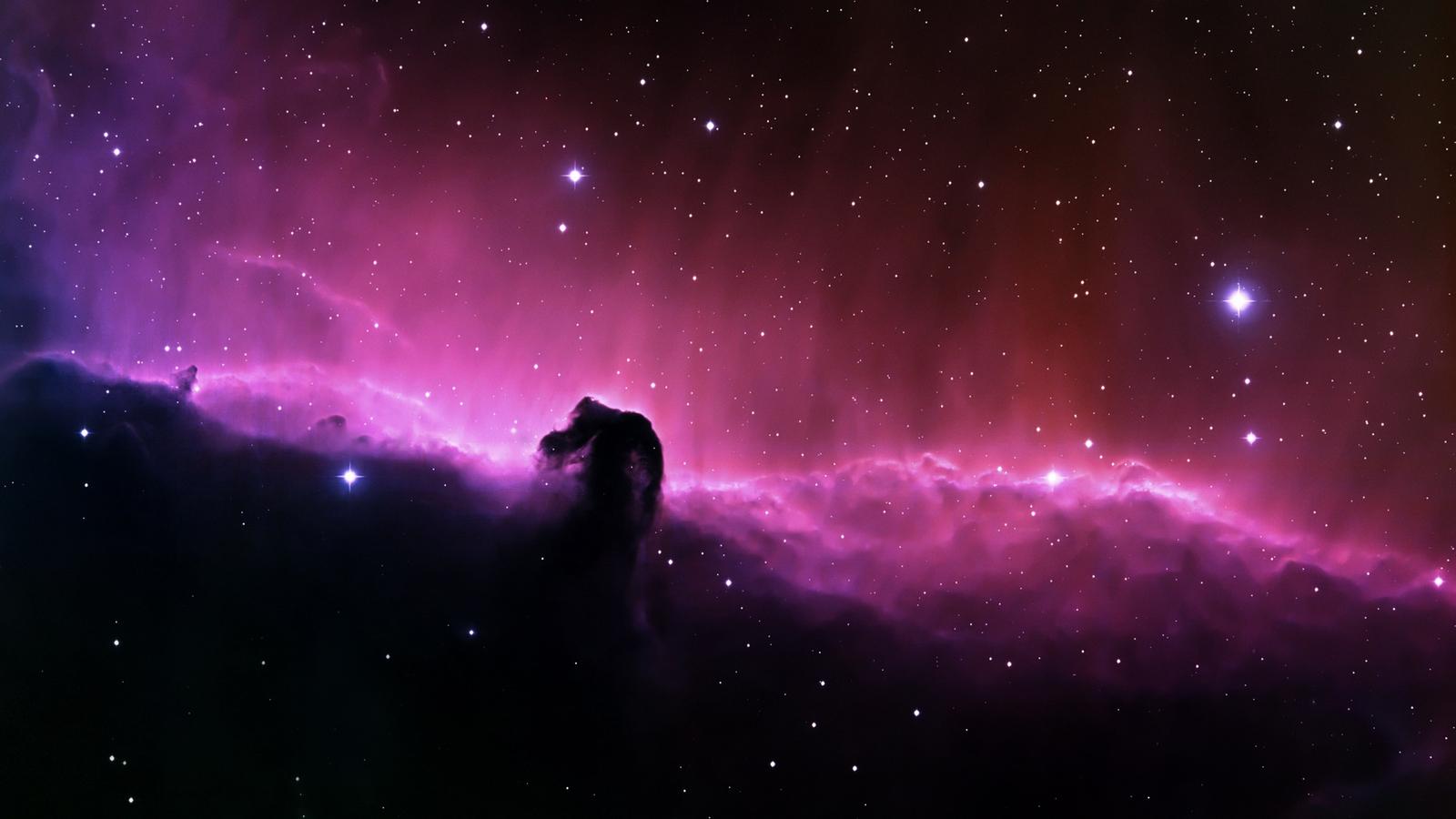 the best top desktop space wallpapers 0n hd space wallpaper horse head 1600x900