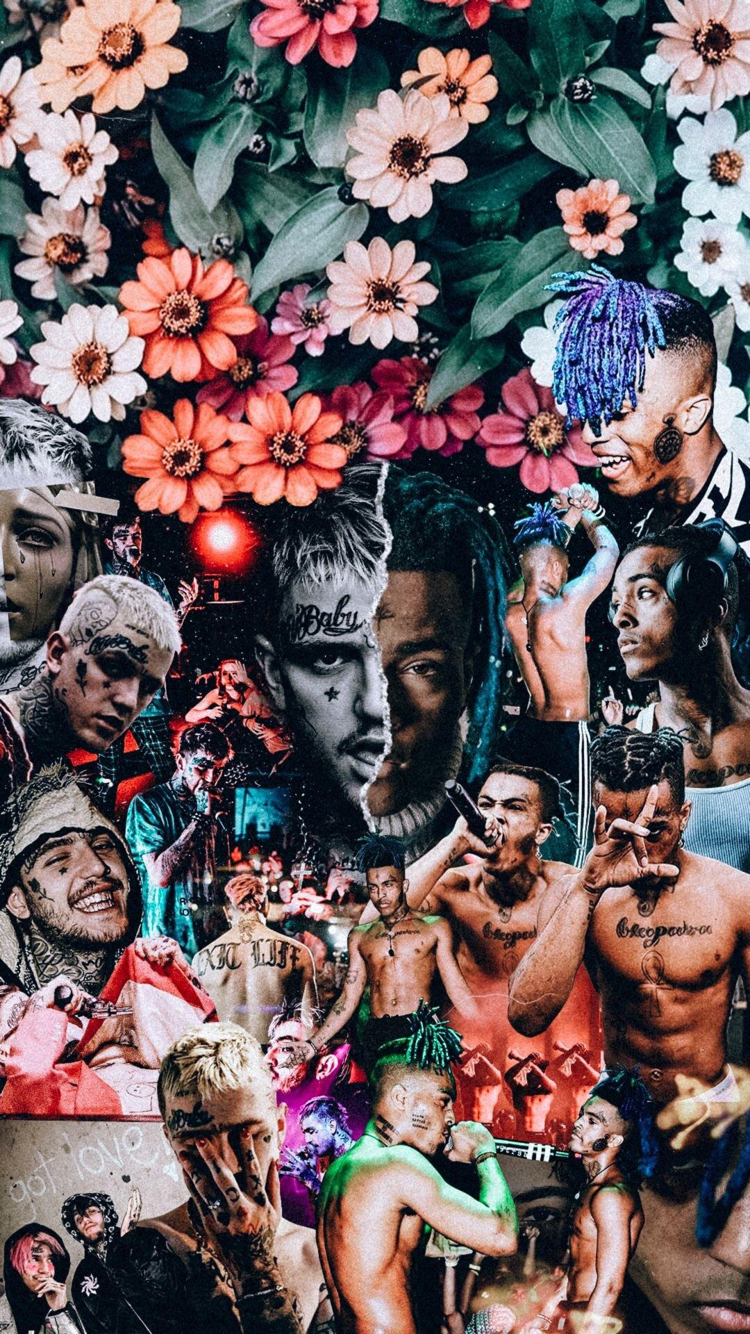 XXXTENTACION and LiL PeeP wallpaper Found this dope shit on 1080x1920
