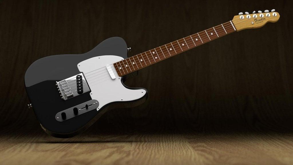 Fender Telecaster Wallpaper Wallpapersafari
