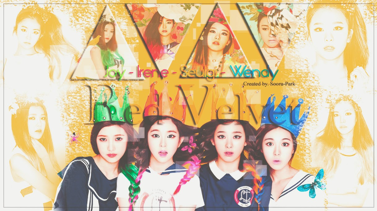 Free Download Red Velvet Kpop Wallpaper Red 1217x684 For