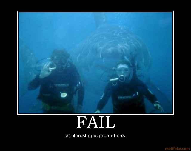 Funny Great White Shark Wallpaper
