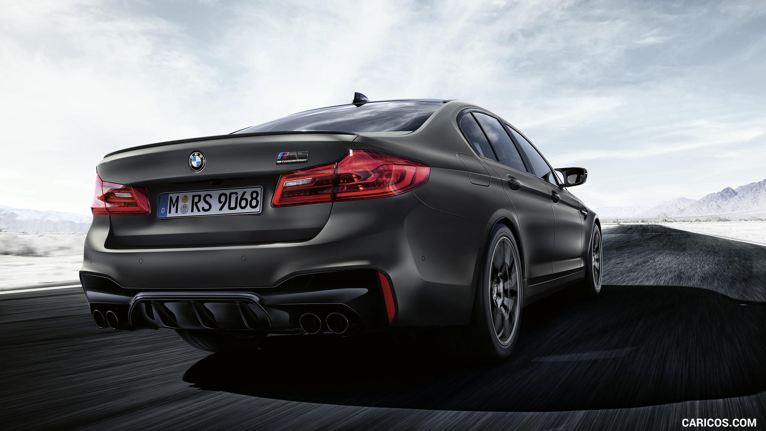2020 BMW M5 Edition 35 Years   Rear Three Quarter HD Wallpaper 4 2560x1440
