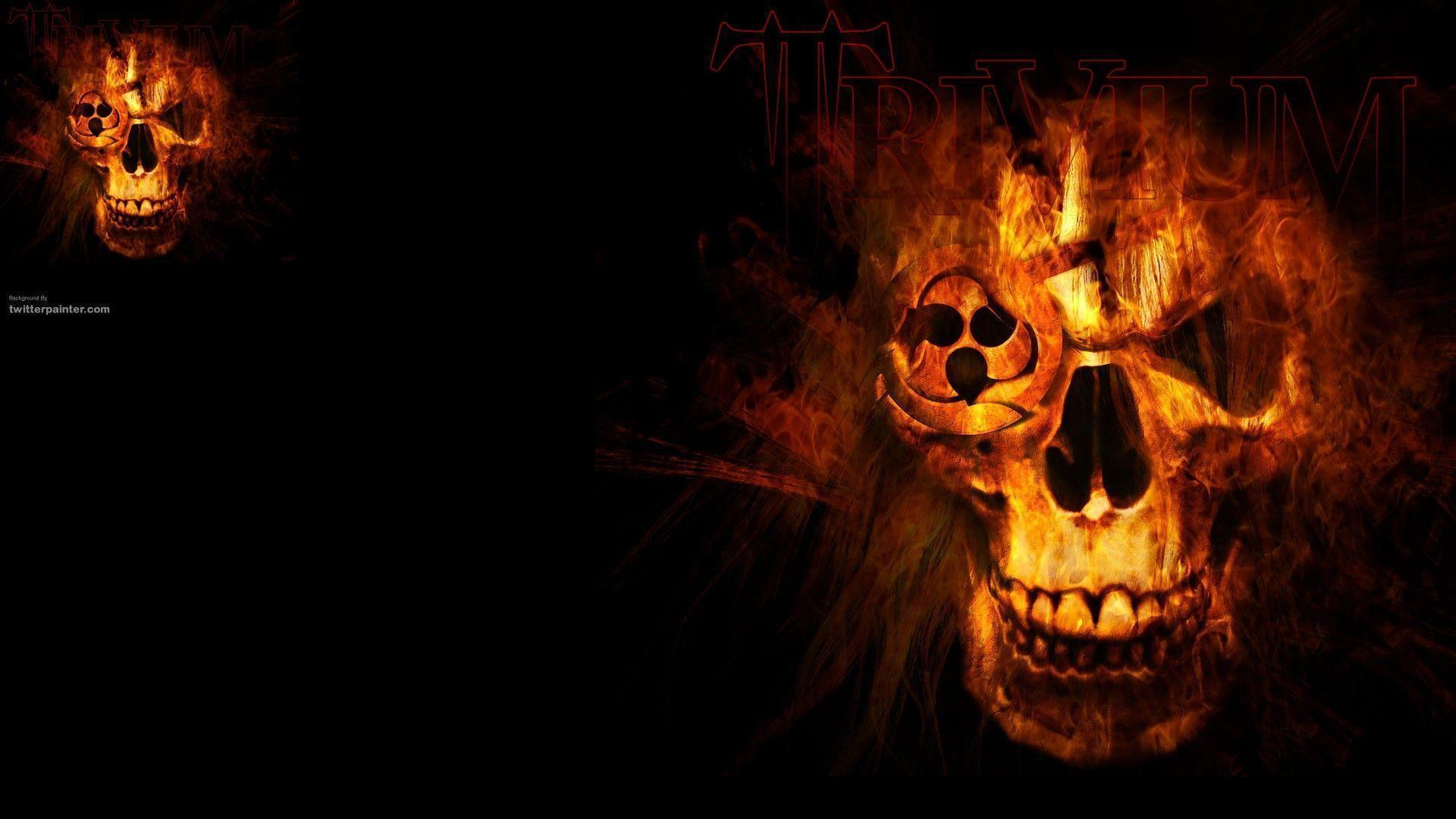 Fire Skull Wallpapers 1920x1080