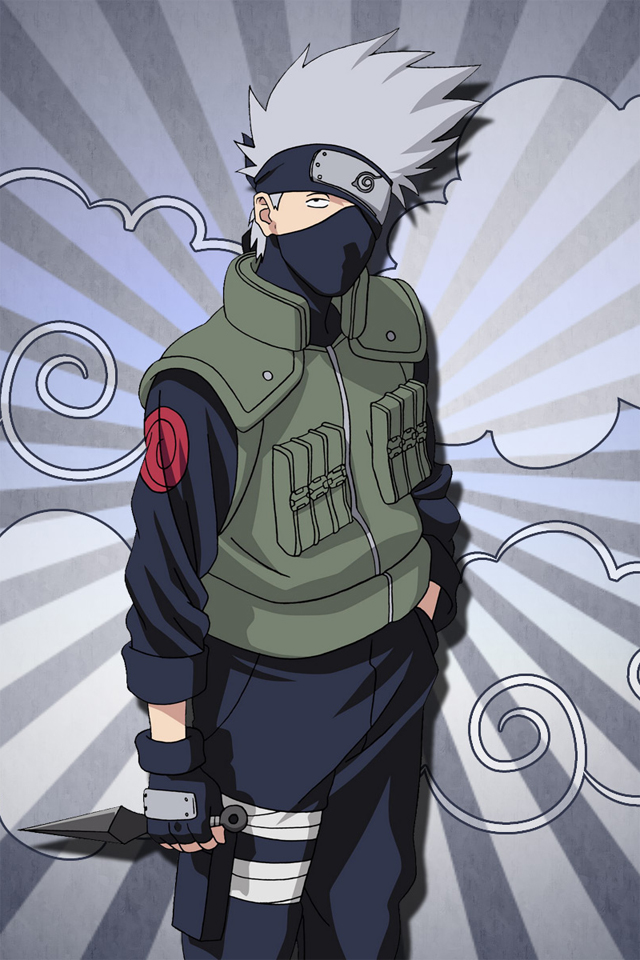Kakashi Iphone 4 Wallpapers 640x960 Cell Phone Hd Wallpapers Downloads 640x960