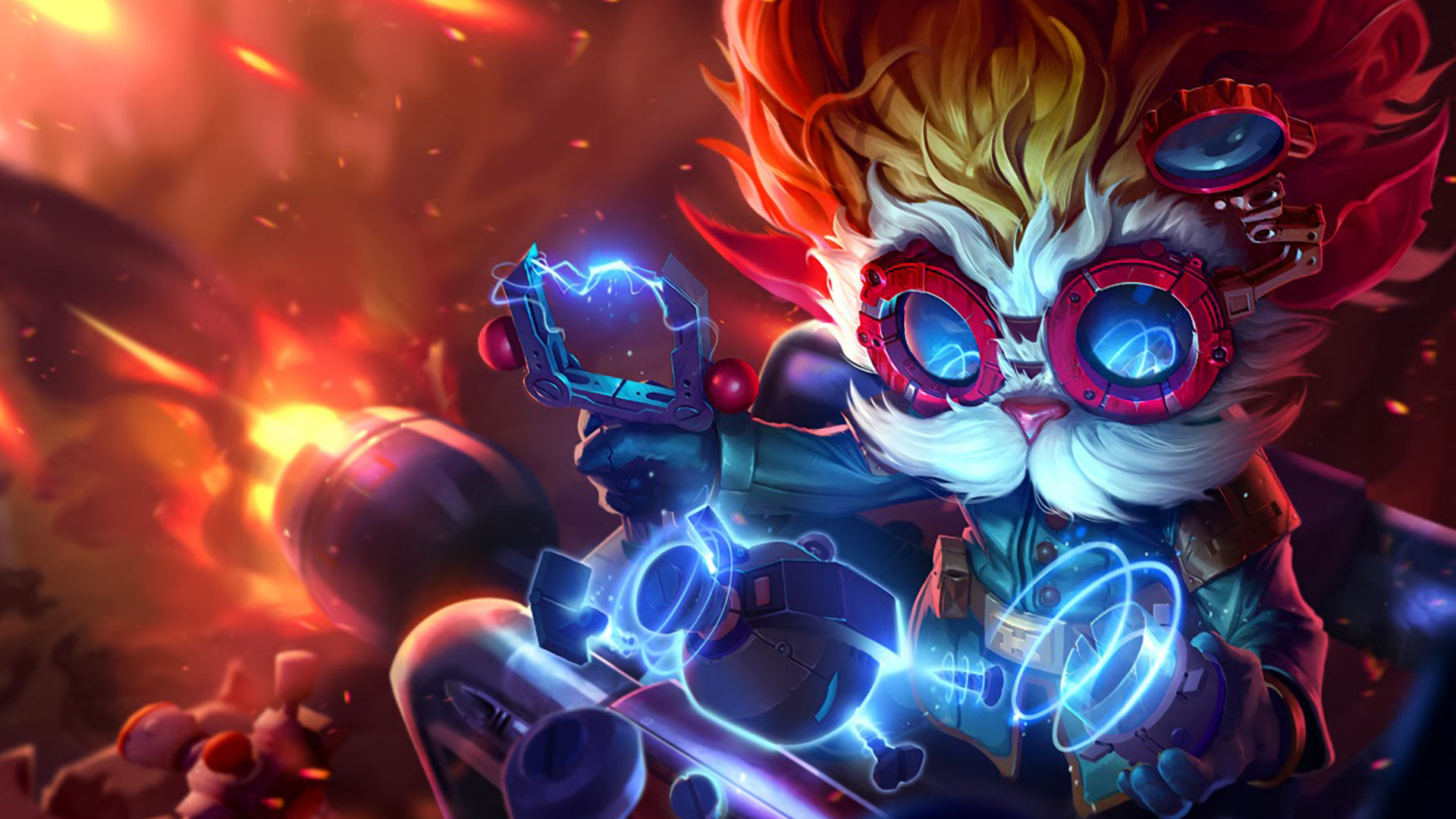 Free Download Heimerdinger New Splash League Of Legends Hd