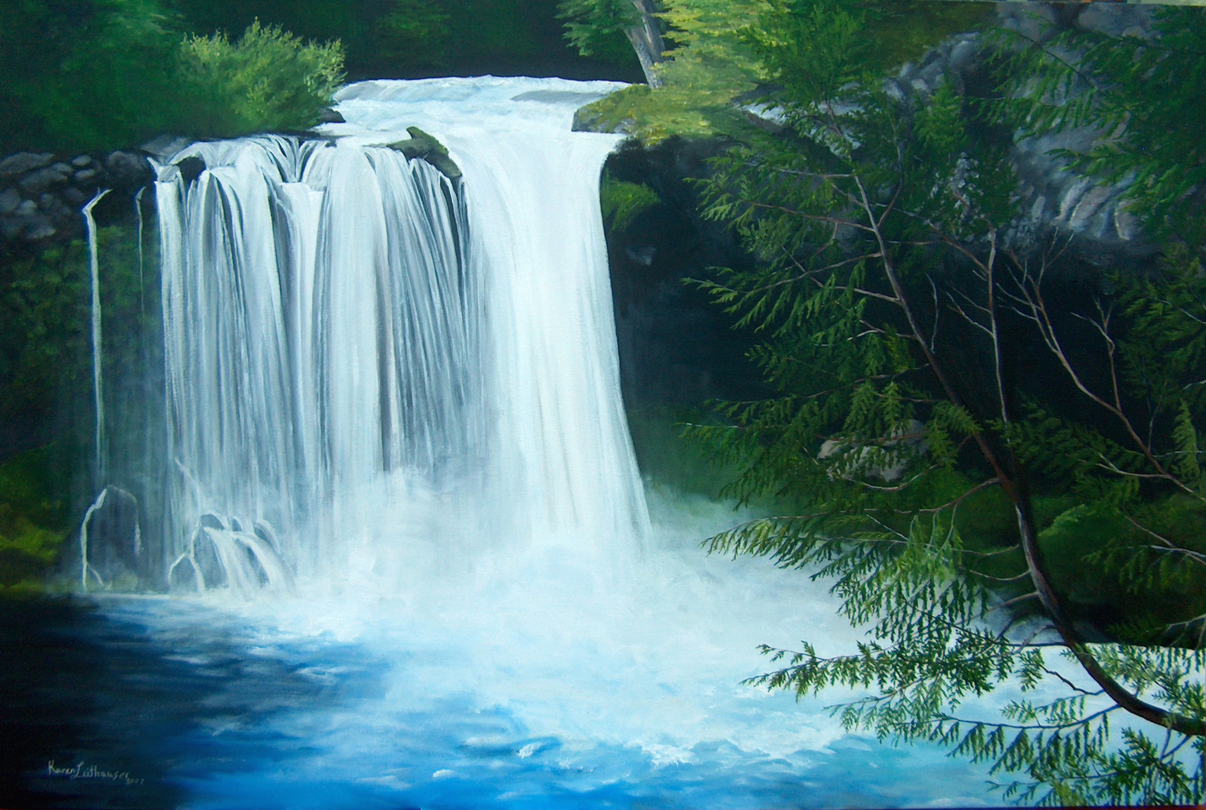 waterfall wallpapers high resolution - photo #3