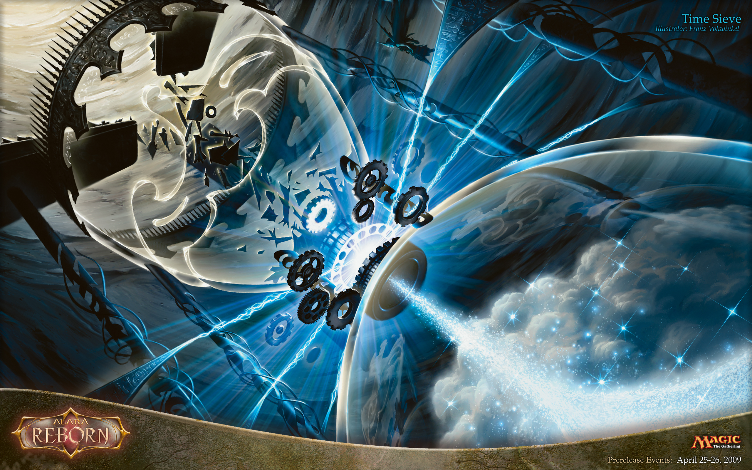 Wallpaper of the Week Time Sieve Daily MTG Magic The Gathering 2560x1600