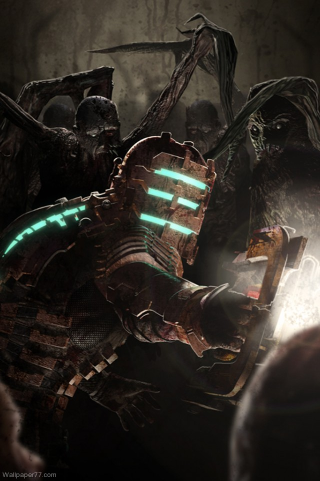 Dead Space Wallpaper 2 dead space wallpapers game wallpapers 640x960 640x960
