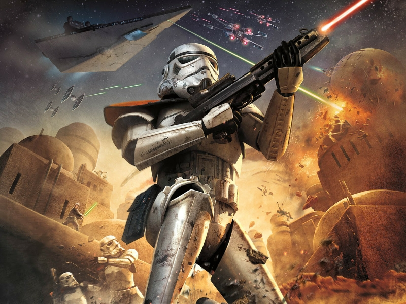 Troopers Star Wars vs Terran Marines StarCraft vs Imperial Guard 800x600