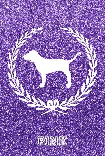 Purple logo victoria secret PINK wallpaper Pinterest 360x532